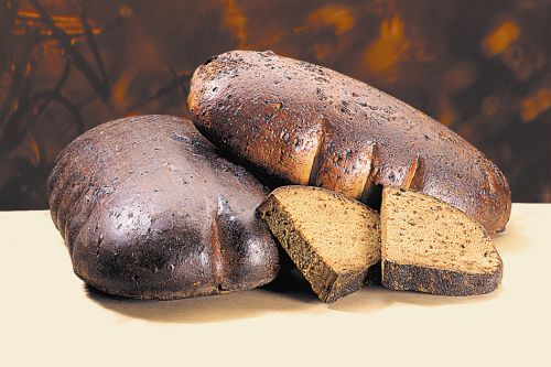 Black bread - latvian food in Riga