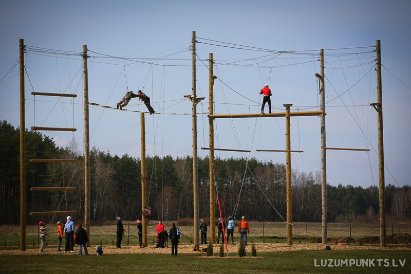 High ropes courses in Riga