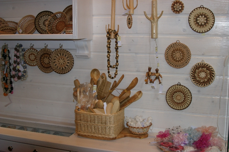 Saulgrieze is a crafts shop in Central market