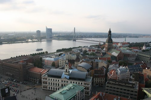 Observation platforms in Riga